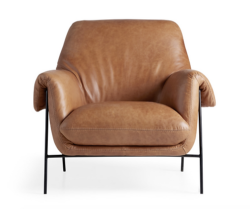 Engles Leather Chair - Arhaus