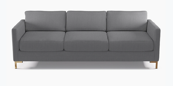 Modern Gray Sofa - The Inside