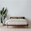 Thumbnail: Walnut Simple Bed - Horne