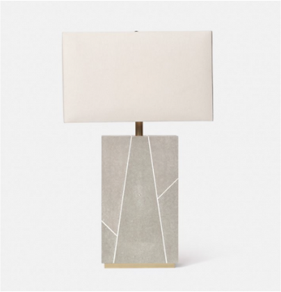 Breck Sand Table Lamp - Belle & June