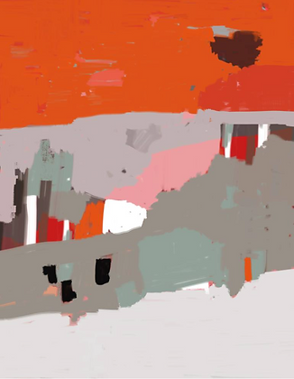 Provence Abstract  |  35 x 47
