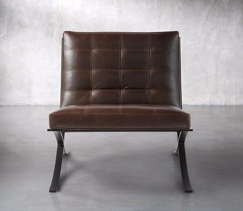 Moxie Leather Chair - Arhaus