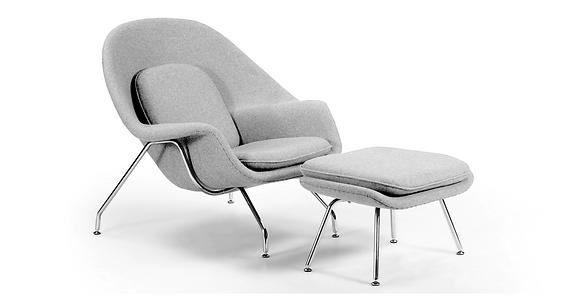 Womb Chair & Ottoman - Kardiel