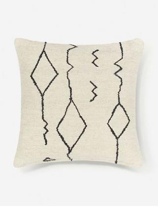 Moraccan Flatweave Pillow - Lulu & Georgia