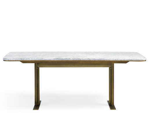 White Marble Table - Arhaus