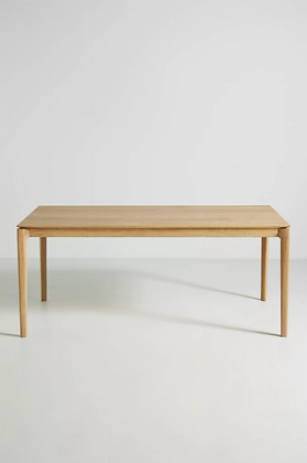 Oak Bok Dining Table - Anthropologie
