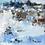 Thumbnail: Winter Beach | 30x 30 | Saatchi
