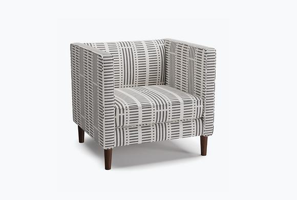 Tuxedo Chair Ink Blocks - The Inside