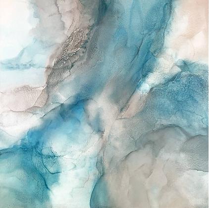 Whitesunday | 44 x 44 | Saatchi