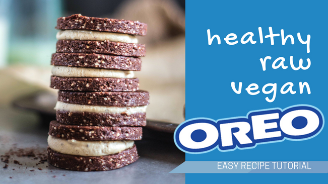 New youtube video healthy oreos vegan recipes co kerry raw vegan oreo raweo forumfinder