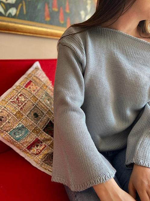 Suéter Cuello Bandeja Liso