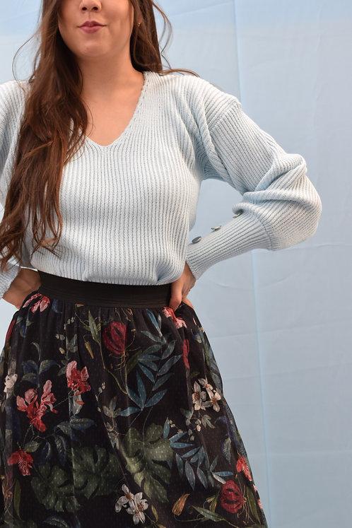 Suéter Liso con manga ceñida