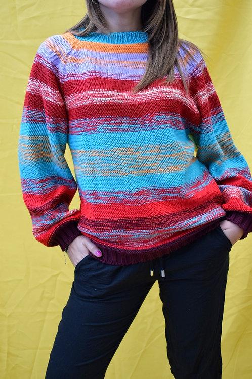 Suéter Combinado