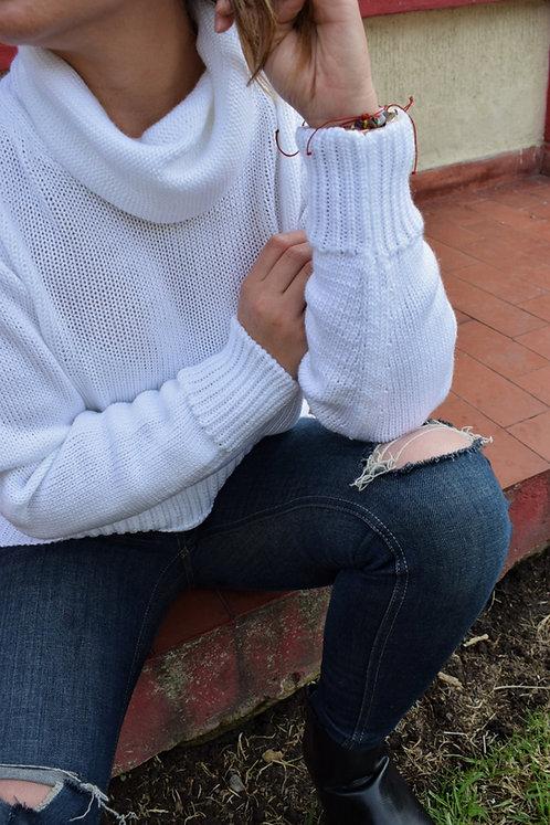 Suéter Liso Cuello Tortuga