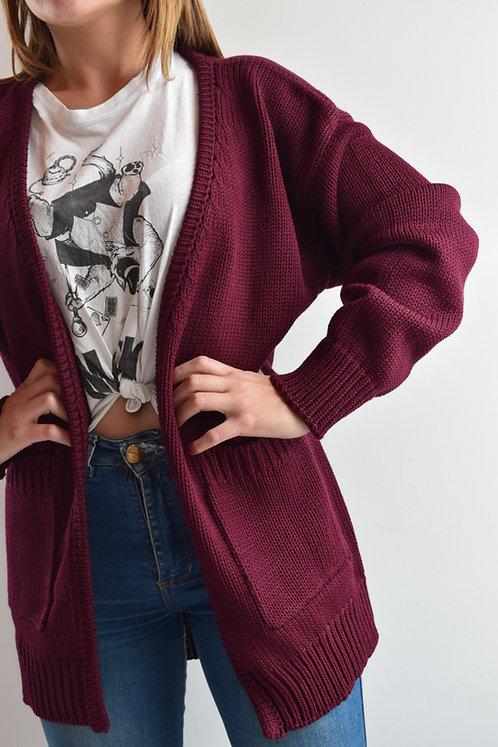Cardigan Liso Knitwear