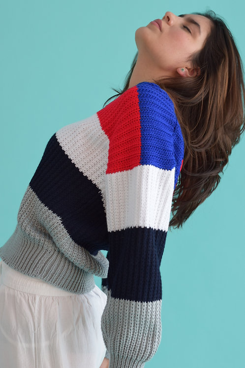 Suéter rayas
