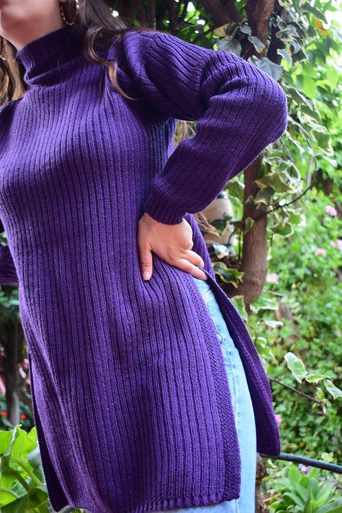 Suéter Con Abertura Knitwear