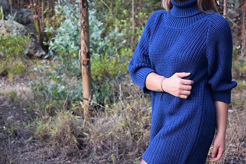 Vestido Liso Knitwear