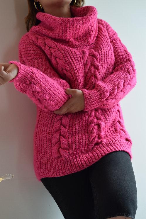 Suéter Trenzado Handmade