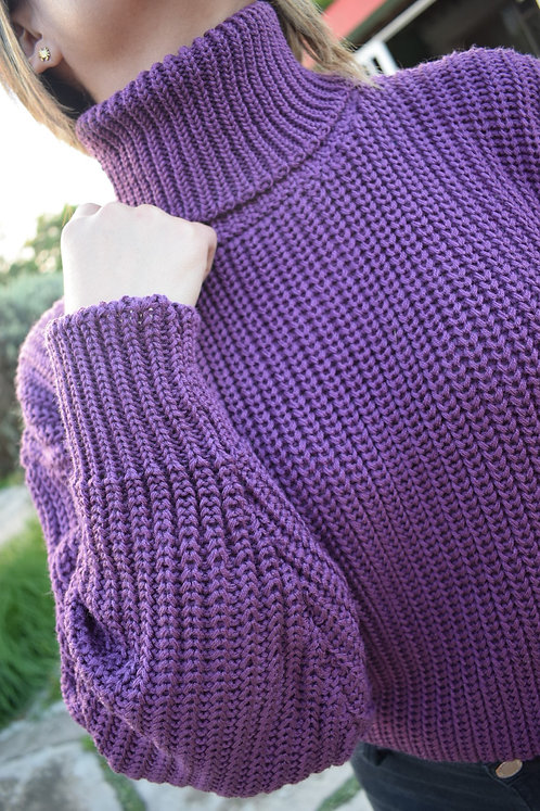 Suéter Cuello Tortuga
