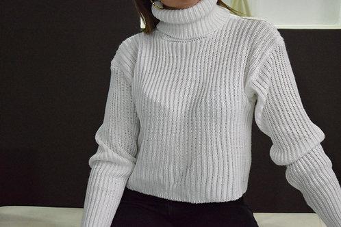 Suéter Basico Cuello Tortuga