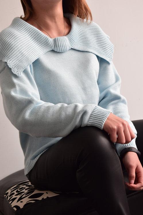 Suéter Cuello Moño