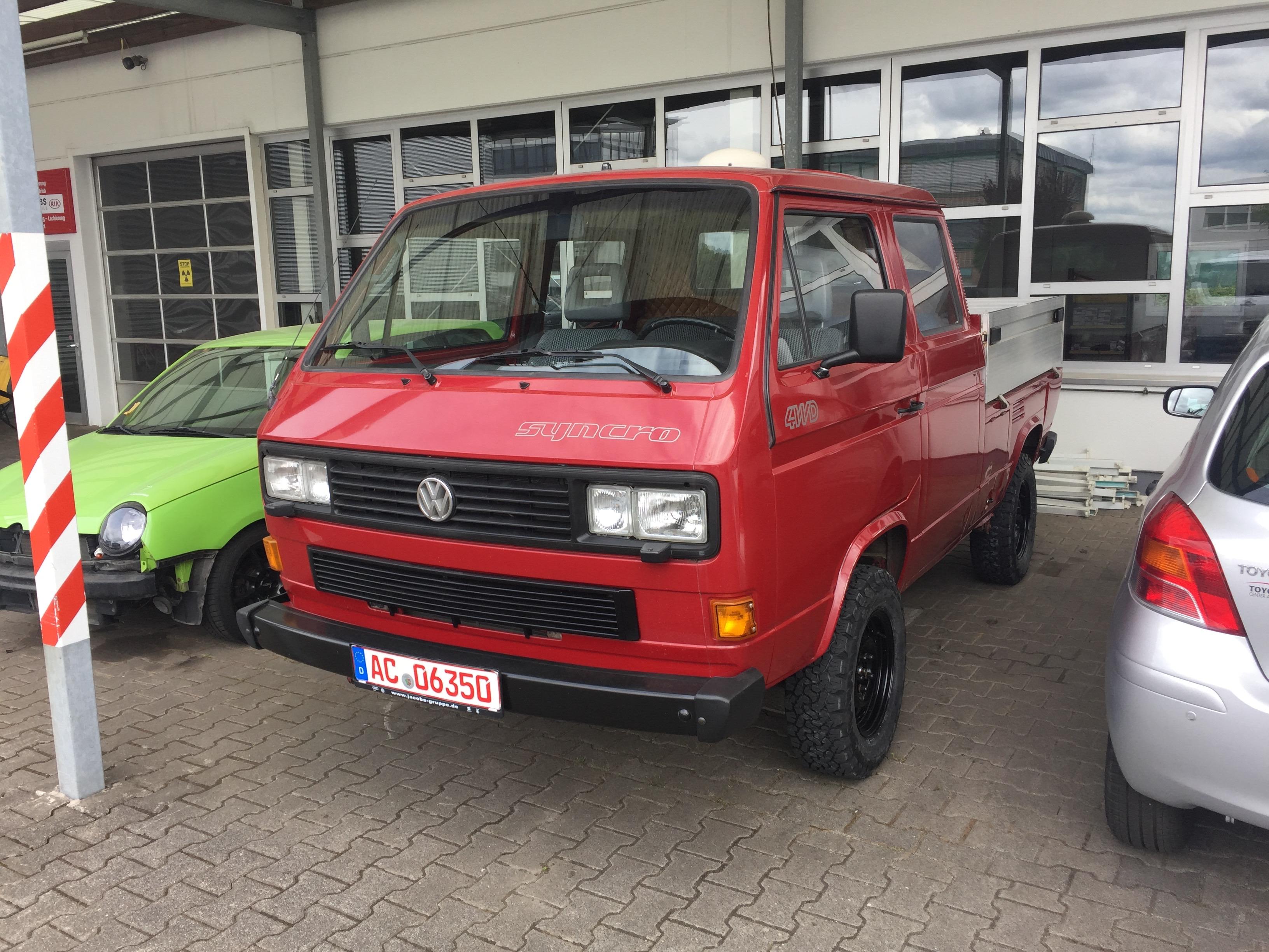 German Offroad & VW Syncro T3 DOKA, SIKA, Bus & Westfalia Specialists