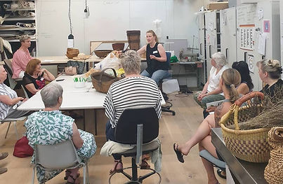 Introduction to basketry weaving