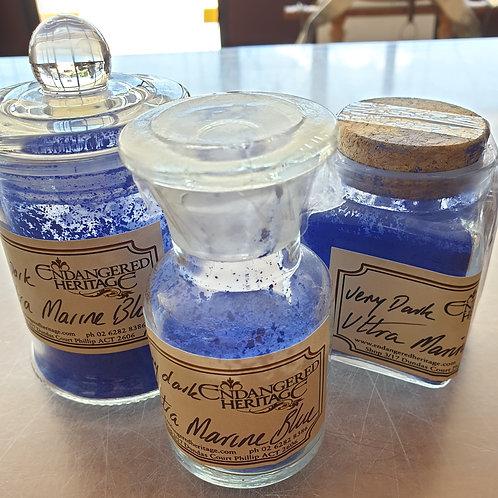 Kremer Pigments Ultramarine Blue, Very Dark