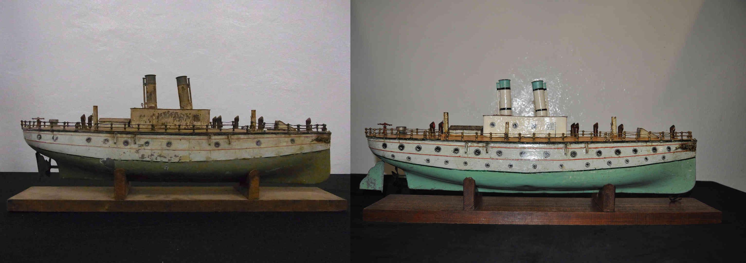 Metal boat conservation