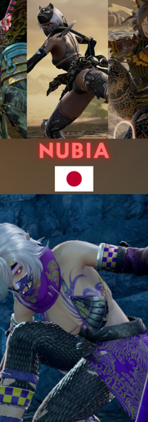 Nubia from Japan