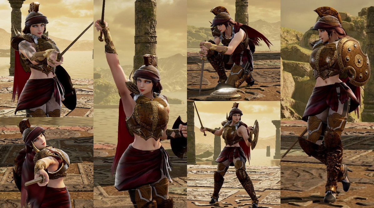 Spartan Sophitia for Bboy-Skyzo
