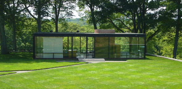 The Glass House (1949), Address: 798–856 Ponus Ridge Road, New Canaan, Connecticut