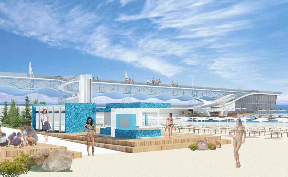 Design of the Recreational Area