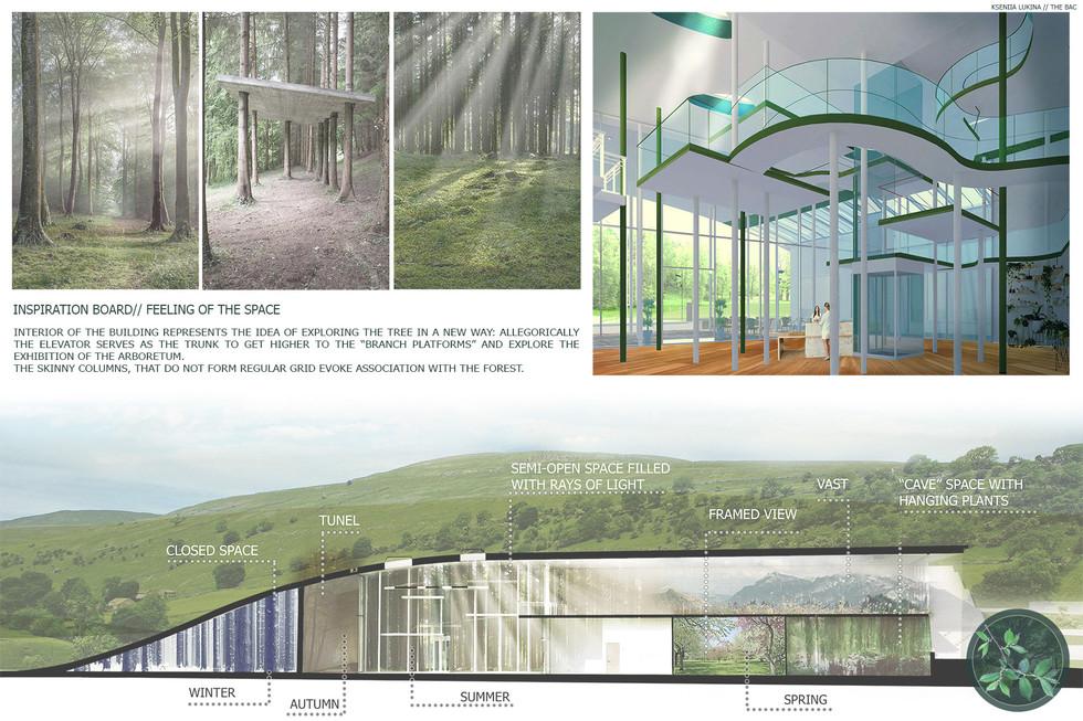 Arnold Arboretum Visitors Center Project - Interior Concept