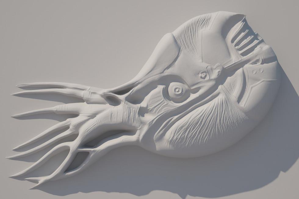 """High-relief """"Nautilus"""""""