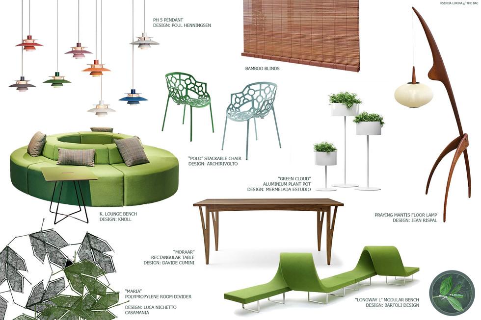Arnold Arboretum Visitors Center Project - Interior Mood Board