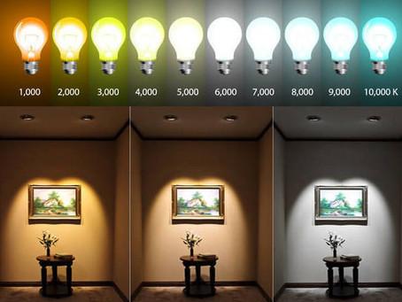 Spectral Color Destribution