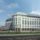 Business center initial version perspective view