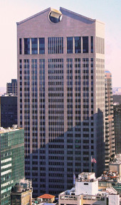 550 Madison Avenue in Manhattan (now known as the Sony Tower)