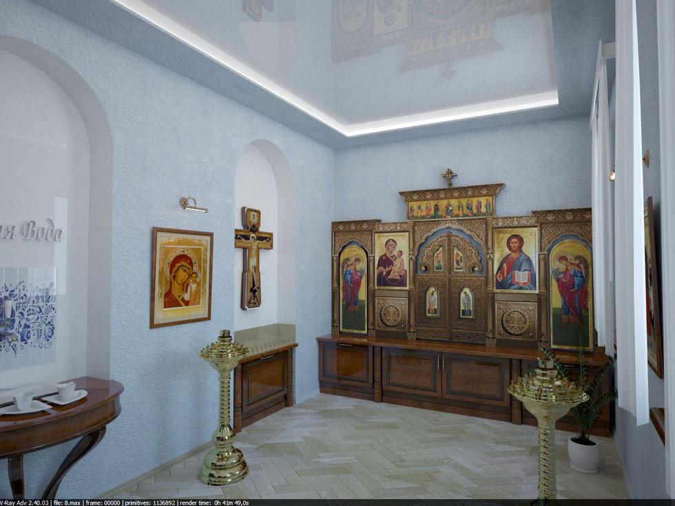Pilgrim hotel. Praying room
