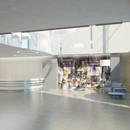 Lobby, integrated art work by M.Lenn