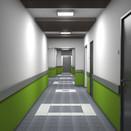 Apartment building, corridor