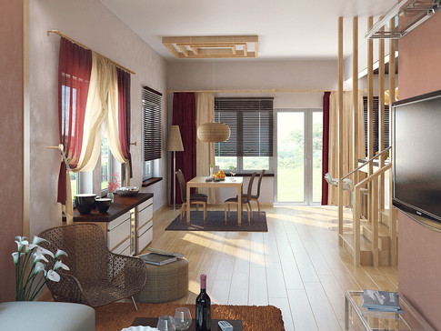 Country House Interior