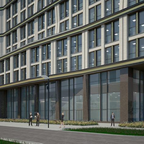 Business center, exterior