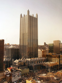 PPG Place (1983) Adress: 1 PPG Place Pittsburgh, Pennsylvania