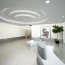 Floor hall, integrated art work by M.Lenn