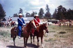 Barbara and Joyce 1963