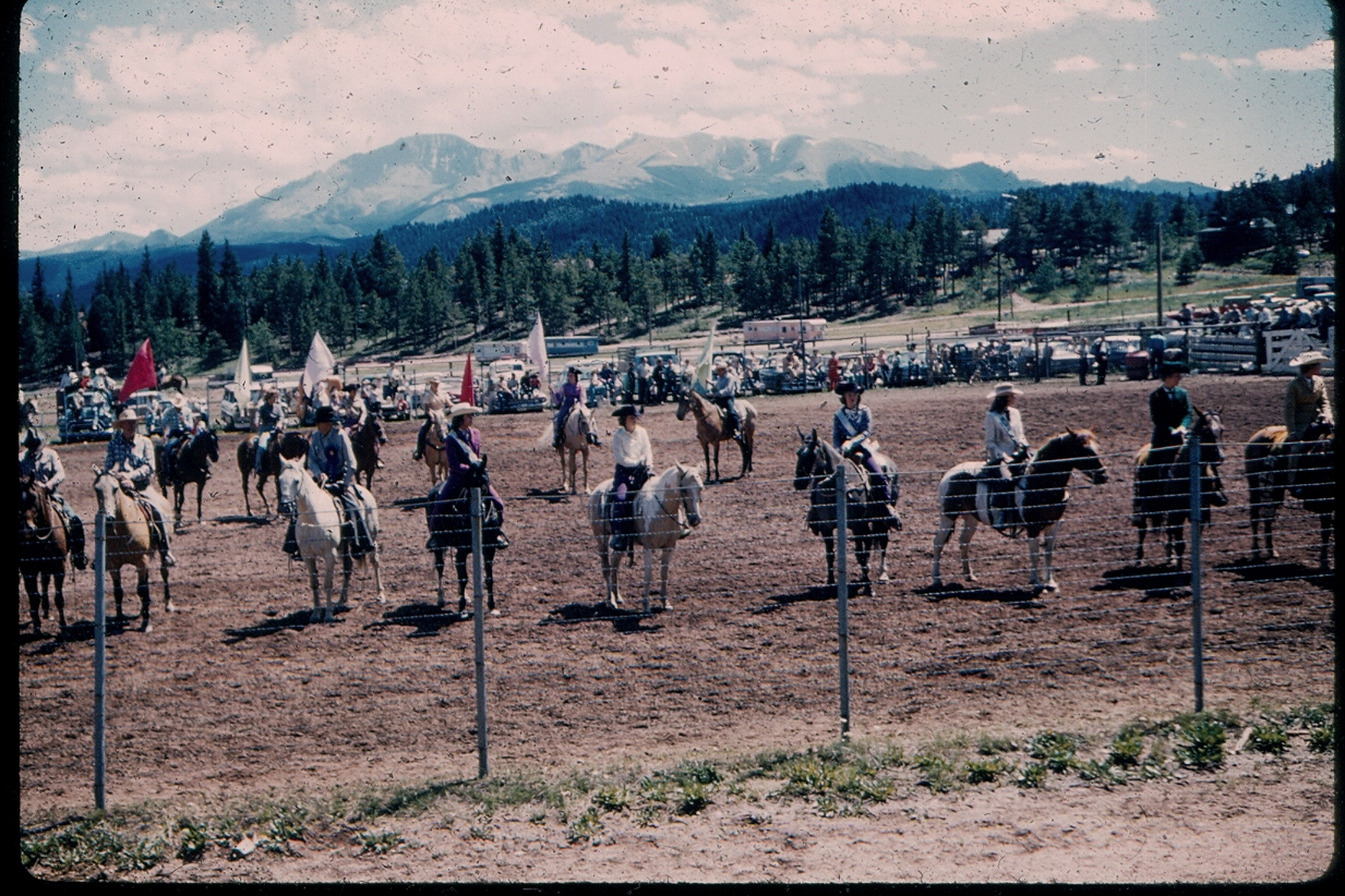 woodland park rodeo 1961
