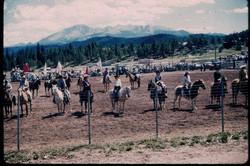 woodland park rodeo 1961